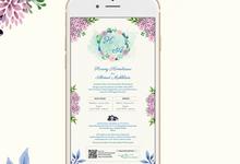E-Invitation |  Undangan Pernikahan Digital SI-026 by ANYELIR STUDIO