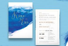 Wedding Invitation - Template 05 by Kanoo Paper & Gift