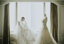 Shangri-La Hotel - Wedding of Anton & Hanna by JP Wedding Enterprise