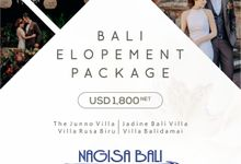 Elopement Package by Nagisa Bali
