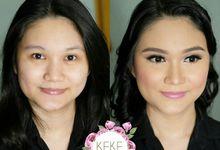 Pre-Wedding Make Up by kekemakeup.id