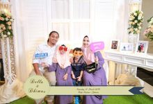 Della & Dhimas Wedding Photobooth by Semut Putih Project