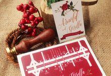 Arnold & Gisella (16.09.16) by Hummingbird Invitation