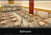 3D LAYOUT SITTING DINNER by Thamrin Nine Ballroom