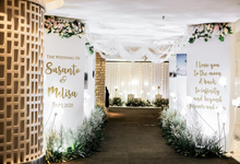 THE WEDDING OF SUSANTO & MELISSA by Thamrin Nine Ballroom