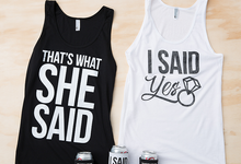 Our Most Popular Bachelorette Party Tank Tops by Bachette