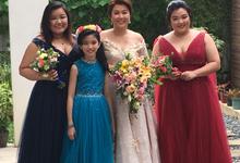MGen Cabreros & Sandra Tan Wedding  by The Atelier Manila