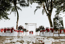 The Wedding of Alex & Maureen by The Bali Dream Decoration