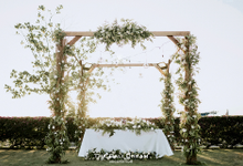 The Wedding of Thesan & Felicia by The Bali Dream Decoration