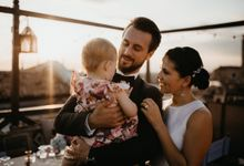 Rooftop DIY wedding in Venice, Italy by Venice Photographer Kinga Leftska