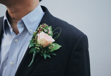 Boutonnières & Corsages by The Bloomish Eden