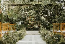 Ceremony Setup by Glass House by Tirtha