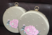 Bridesmaid Clutch by The Curvakum Label