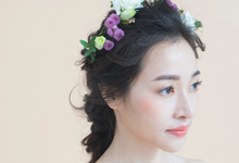 Floral style shoot by The Glow BeautyBar