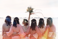Bride tribe style shoot by The Glow BeautyBar