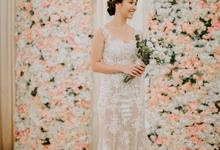 Siaw Fun's wedding by The Glow BeautyBar