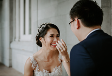 Siaw Fun's wedding by The Glow BeautyBar