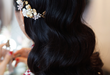 Lin Tong's vintage wedding by The Glow BeautyBar