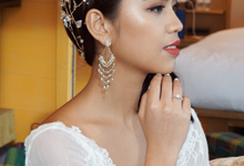 Min Hui's wedding by The Glow BeautyBar