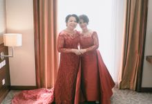 Mother of the groom and the bride by Boenga Couture