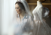 The wedding of Dita & William  by The Ivy Atelier