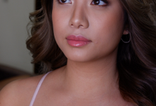 Glowy and bronzy bride by The Makeup Studio by Rouchelle Battad