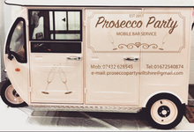 mobile prosecco bar wiltshire by The Prosecco Party