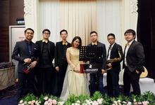 K-Link Tower Ballroom (Faizal & Priska Wedding) by The Red Carpet Entertainment
