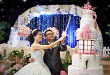 Sky Hall Ballroom (Adit & Melissa Wedding) by The Red Carpet Entertainment