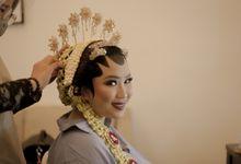 Aisha Faza Wedding Day by theSerenade Organizer