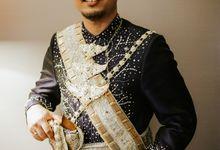 Wedding Recepstion Nadira Alvin dengan Konsep Makassar Modern by theSerenade Organizer