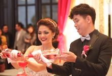 Wedding Reception Anna Liem International Concept by theSerenade Organizer