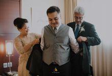 Pernikahan dua budaya ala Andreas dan Herly by theSerenade Organizer