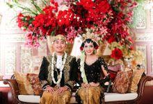 Wedding Reception Zahra Dodit by theSerenade Organizer