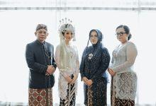 Akad Nikah Nadira Alvin kental dengan Adat Sunda by theSerenade Organizer