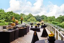 Starry Night Theme Wedding by The Star Performing Arts Centre