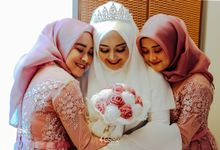 The Wedding of Nurul & Hary by Habibie Photography
