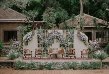 Vina & Dewo Wedding  by Thebridewears