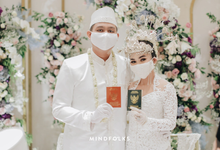 New Normal Betawi Wedding ala Zhavira Sergi by theSerenade Organizer