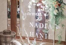 Intimate Wedding Nadia Hanif by theSerenade Organizer