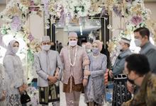 Intimate Wedding Kirana Nofar by theSerenade Organizer