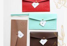 Envelope Pouch A by Gifu Souvenir