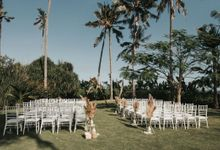 Chill Boho-chic Wedding at Villa Samadhana, Bali by Silverdust Decoration