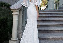 Modern Trumpet Mermaid silhouette Lynn-Majestic wedding dress by DevotionDresses