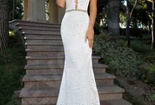 Modern Princess Ball gown silhouette Taissa-Grace wedding dress by DevotionDresses