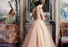 Luxury Princess Ball gown silhouette Sarinne wedding dress by DevotionDresses