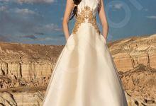 Luxury A-line silhouette Neli wedding dress by DevotionDresses
