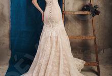 Luxury Trumpet Mermaid silhouette Virdjiniya wedding dress by DevotionDresses