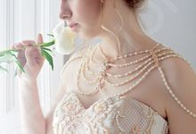 Luxury Princess Ball Gown silhouette Rimia wedding dress by DevotionDresses