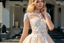 Modern Princess Ball gown silhouette Stella wedding dress by DevotionDresses
